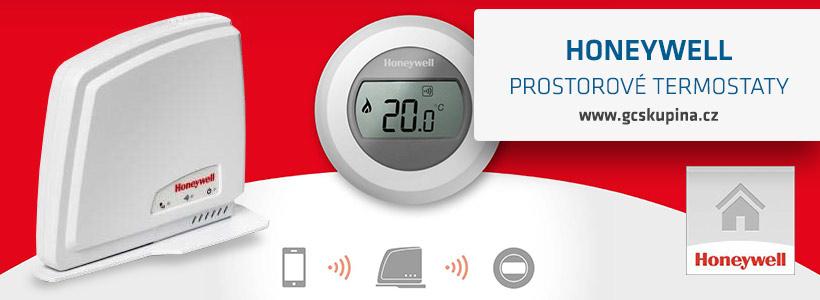honeywell prostorové termostaty