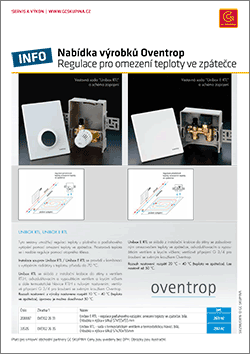 oventrop regulace