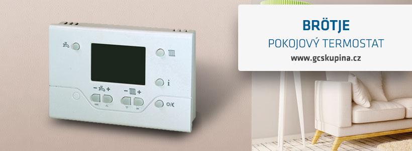 pokojový termostat brötje rgi