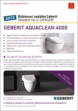 Bidetovací sedátko Geberit AquaClean 4000