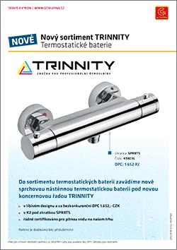 trinnity termostatická baterie