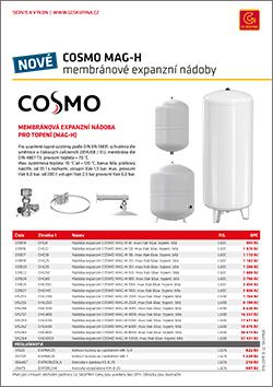 COSMO expanzní nádoby