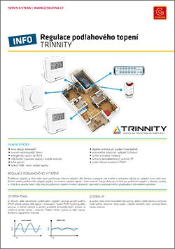 regulace podlahového topení trinnity