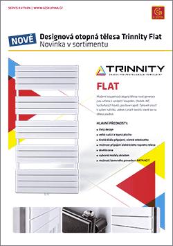 Otopné žebříky TRINNITY Flat